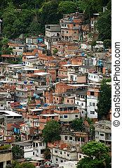 Leme - Forte do Leme - Rio de Janeiro Favela Chapeu...