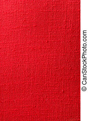 Red Burlap Weave Texture - for use as overlay or background