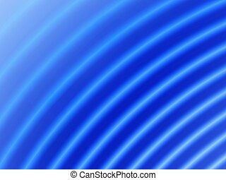 Ripple Blue - Fractal image of a blue ripple background