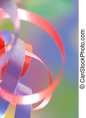 ribbon details with selective focus good for background