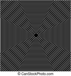 Concentric - A background of concentric shapes, Fools the...