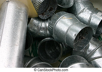 Ductwork - used metal ductwork