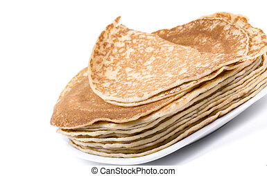 pancakes tilted