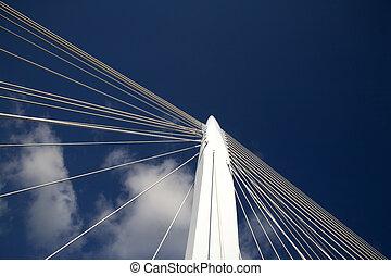 Suspension bridge 12 - Suspension bridge, Utrecht, Holland