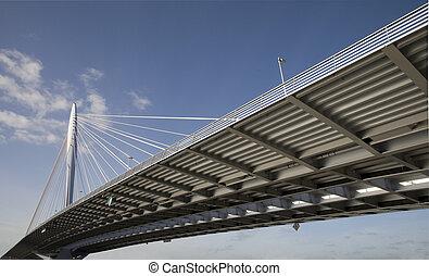 Suspension bridge 10 - Suspension bridge, Utrecht