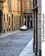 Italy travel - old town street - Beautiful old town street...