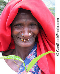 Lovely Smile - Sri Lankan lady with bad teeth