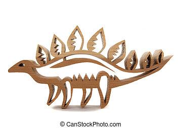 Oak Dinosaur - Oak dinosaur I made