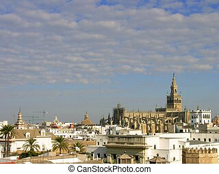 Image from sevilla,  capital of andalusia region, spain.