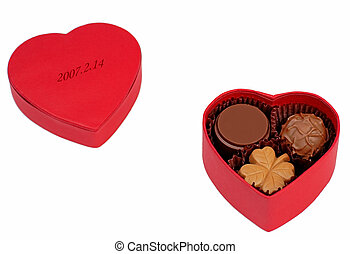 Valentine chocolate box - Valentine assorted chocolate box...