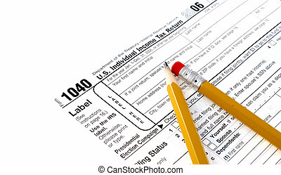 tax forms  - usa income tax forms
