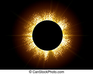 Eclipse the sun