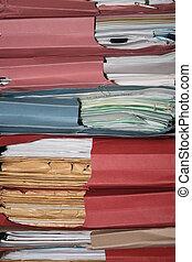 Folders - Pile of folders