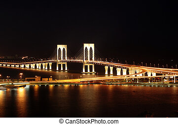 Sai Wan bridge, Maca - The third bridge of Macau, Sai Wan...
