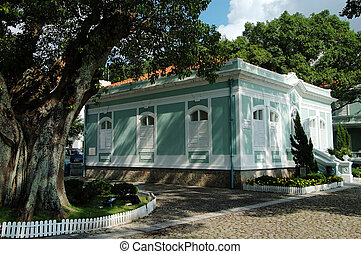 Preserved colonial h - One of the colonial house in the...