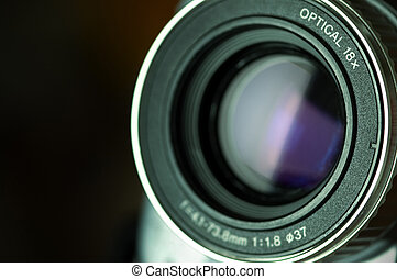 camcorder lens - special photo fx ,focus point the nearest...