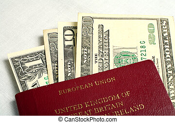 Transatlantic travel - A British European Union passport...