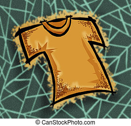 t-shirt - yellow t-shirt