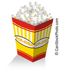 pop corn - popcorn box