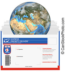 Express Delivery-Earth Eastern Hemisphere