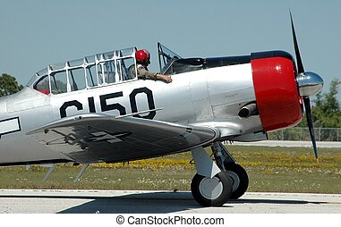 Air show - Photographed aircraft at air show in Florida.