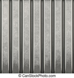 corrugated metal - Some corrugated metal / building material...
