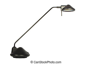 desk lamp - Modern desk lamp on a white background