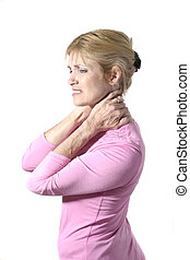 Severe Neck Pain 8 - Beautiful and attractive mid forties...