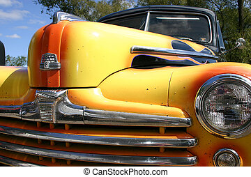 Americian Classic - American classsic car with flame paint...