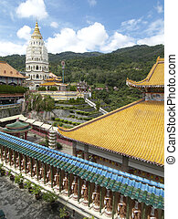 The Lek Kok Si temple - The Lek Kok Si Buddhist temple in...