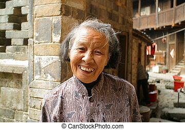 starszy, Chińczyk, ludzie