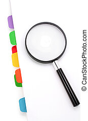 file divider and magnifier - file divider and magnifier,...