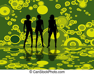 bubble model green