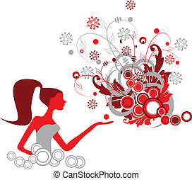 Fashion girl Clipart and Stock Illustrations. 109,461 Fashion girl ...