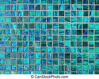 Blue tile background - Blue tiles