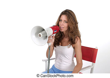 Woman Director With Megaphone 3