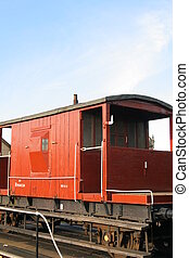 Brake Van - Vintage Railway Guards Brake Van