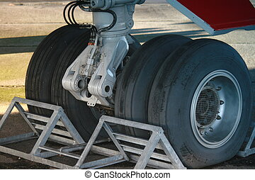 Nose Wheel - Airliner Undercarriage