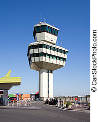 Airport Tower 2 - Airport Tower of airport Germany...
