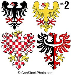 Heraldic Eagles 2 - Heraldic Eagles vol2 - Coloured...