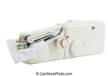 Cordless Handheld Sewing Machine - Cordless handheld sewing...