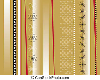 wrapping paper - An abstract background in a gold wrapping...