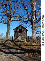 Old shack - Old building ona farm in North Carolina