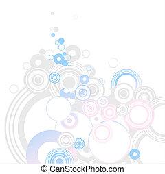 Circle background Illustration of background useful for many...