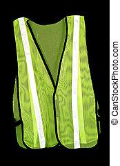 Safety vest - Regulation safety vest worn at accident scenes...