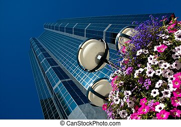 skyscrapers - Office towers in Calgary Alberta, Canada\\\'s...