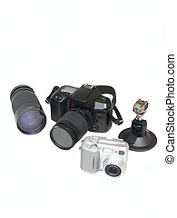 Photo gear 50774 - A selection of photo gear from an hobby...