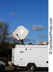 TV Outside Broadcast - Television News Outside Broadcast...