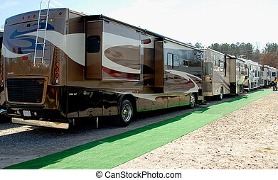 RV and Camping Show - Photographed rv and camping show in...
