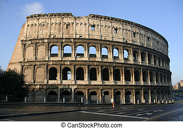 The Colosseum - Il Colosseo also known as Flavian...